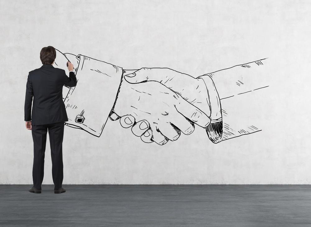 partnership-shake-hands-chalk
